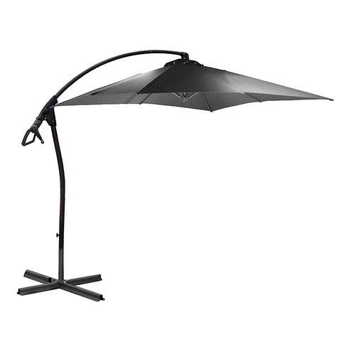 WASSERDICHT Ampelschirm 250x250cm quadratisch durch PVC-Beschichtung Schirm
