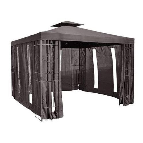 Pavillon Seitenteile mit Fenster & Reißverschluß an jeder Seite Pavillion 4Stück