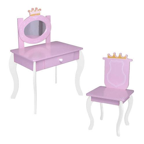 Kinderschminktisch #012 Prinzessin Kinder Mädchen Schminktisch für Kinder