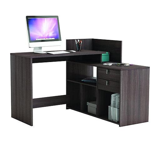 Eck-Schreibtisch #205 Vulcano Eiche dunkel Schreibtisch Computertisch