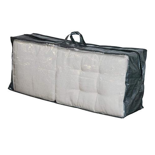 Living Schutzhülle für Kissen / Auflagen 125x32x50 cm grau
