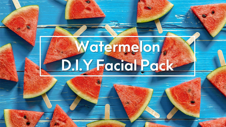 Watermelon D.I.Y Facial Pack for all Skin Types