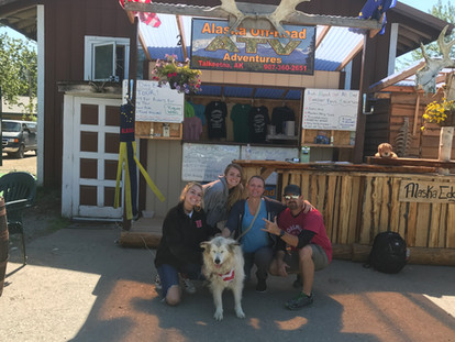 Penny and Crew Downtown Talkeetna