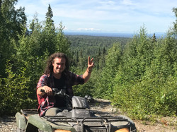 Talkeetna backcountry ATV ride