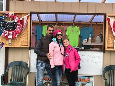 Alaska Off Road Adventures Tour Booth on Main Street, Talkeetna