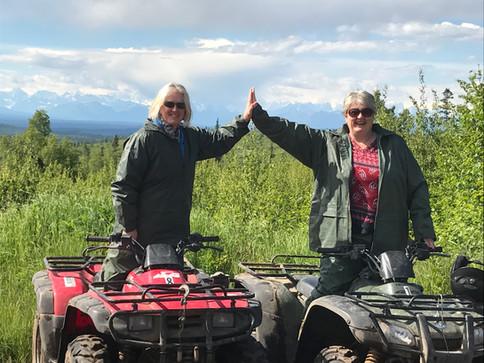 A Talkeetna ATV Ride High Five