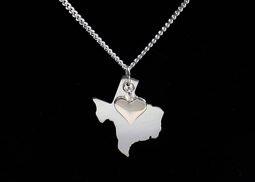Texas Necklace in Sterling Silver