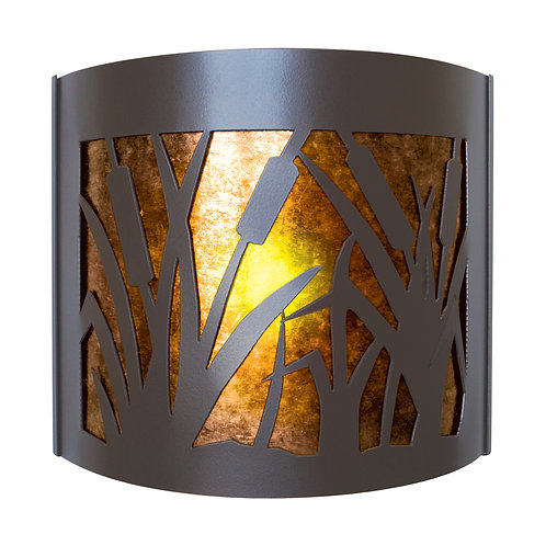 Cattail Sconce