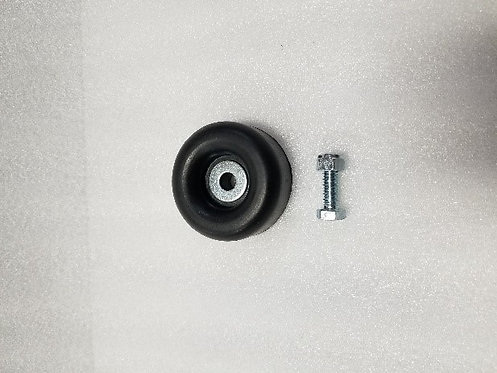 Large rubber bumper with mounting bolt for Quick Latch brackets