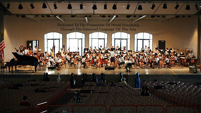 Interlochen Arts Camp, Interlochen, MI
