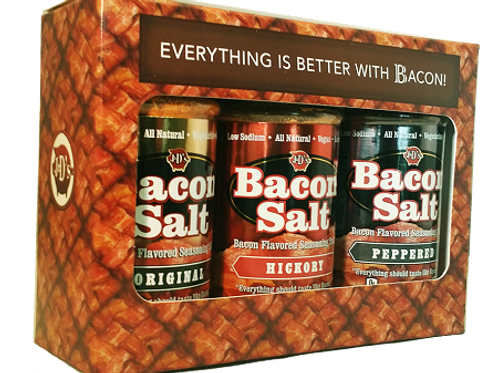 Bacon Salt Everything Is Better With Bacon! 3-Pack Gift Box