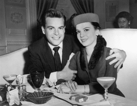 Natalie Wood with Robert Wagner at the pPump Room