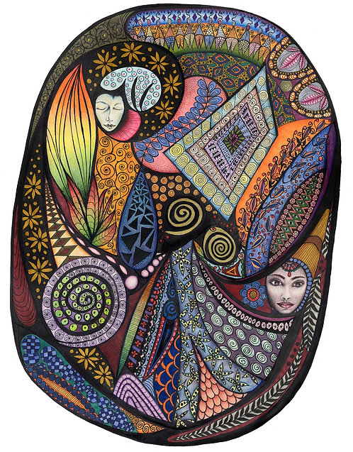 The Egg – Limited Edition Giclee Print
