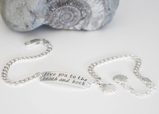 Ankle Chain Beach Wedding Jewelry Wedding Gift Anklet Sterling Silver Ankle Cuff