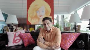 This genius of a sculptor, Jonathan Adler….And Barbies house.