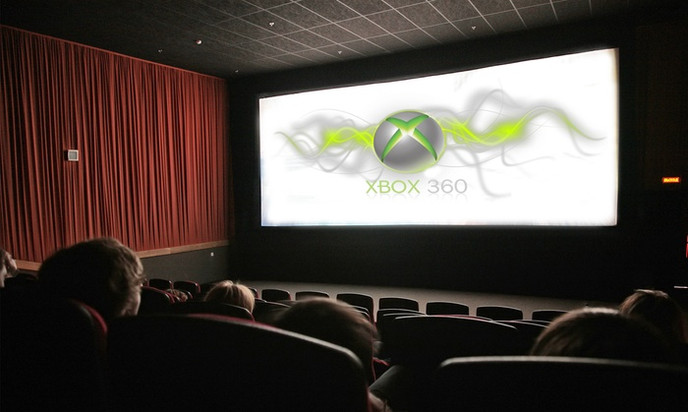 GAMING ON THE BIG SCREEN