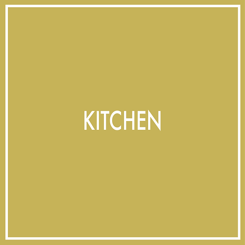 Kitchen (Including Plan Drawings/Elevations)