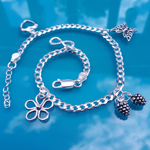 Charm Anklet Every charm has a significant meaning to the owner