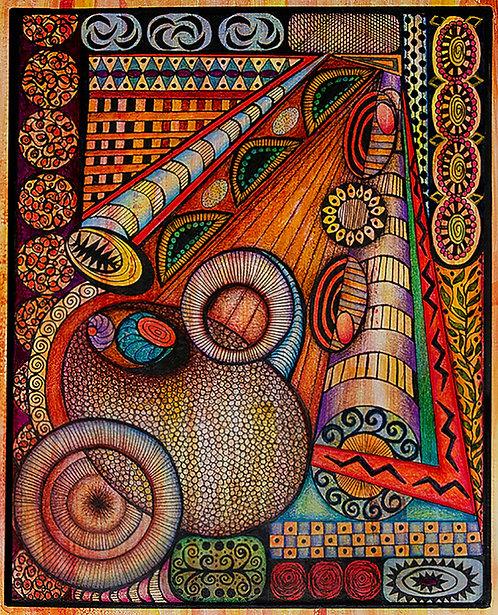 La Trumpeta -  Limited Edition Giclee Print