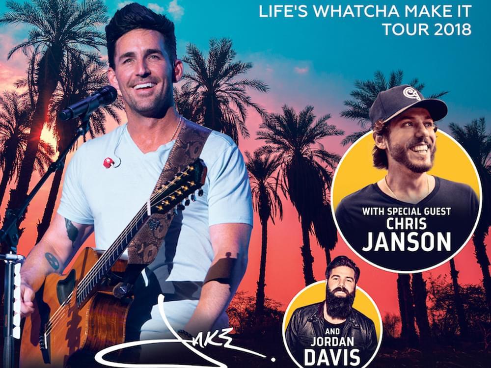 Jake Owen: Life's Whatcha Make It Tour