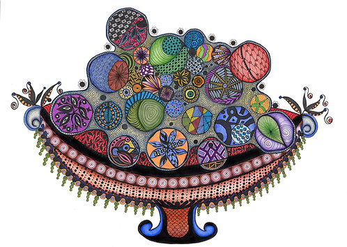 Ornaments in A Bowl – Limited Edition Giclee Print