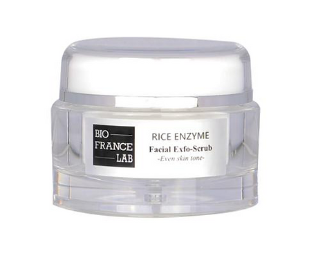Bio France Lab Bright Rice Enzyme Facial Exfo-Scrub