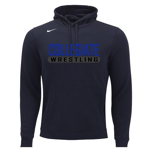 Nike Men's Club Fleece Hoody Collegiate Wrestling