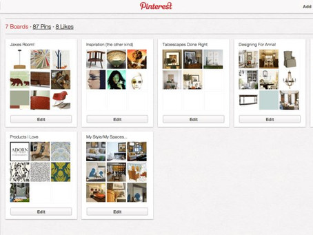 Pinterest. My New Obsession.