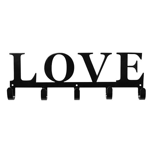 Love - Metal Key/Leash Wall Hanger