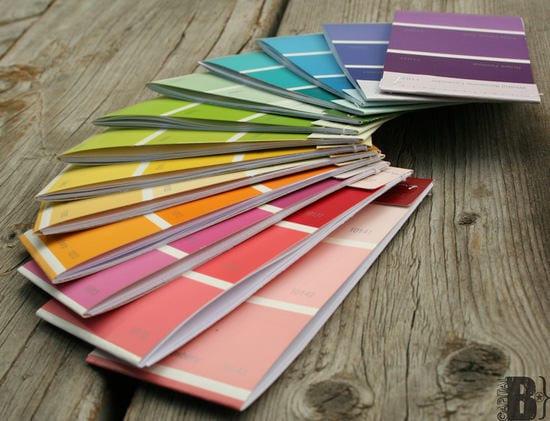 Paint Chip Matchbook