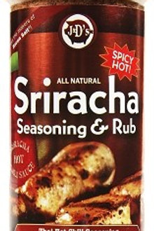 J&D's Sriracha Rub & All Purpose Seasoning