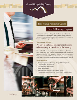 Marketing Collateral Re-Write and Re-Design