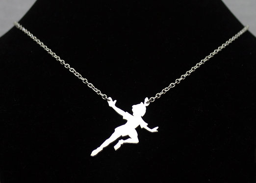 Peter Pan Necklace in Sterling Silver