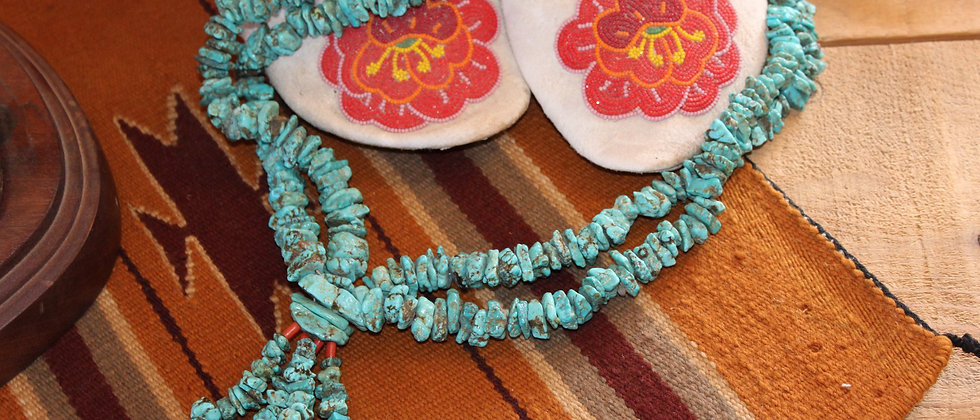 Vintage Navajo Jacla Necklace
