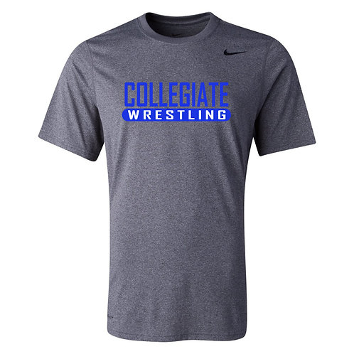 Nike Men's Legend SS Crew Collegiate Wrestling