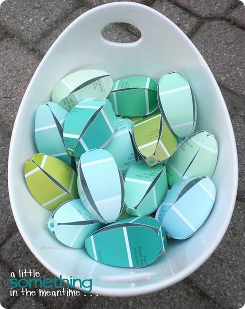 Paint Chip Eggs