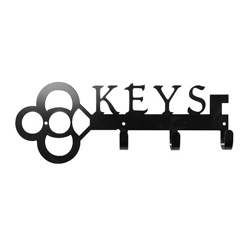 Keys - Metal Key/Leash Wall Hanger