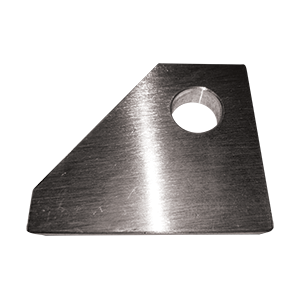 Aluminum replacement pivot tab w/bushing