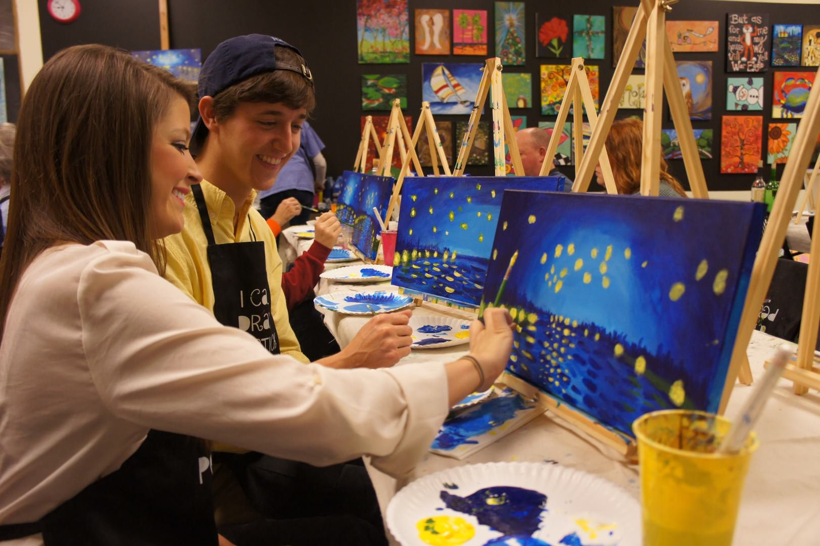 Painting Your Choice  4:00 - 6:00 pm