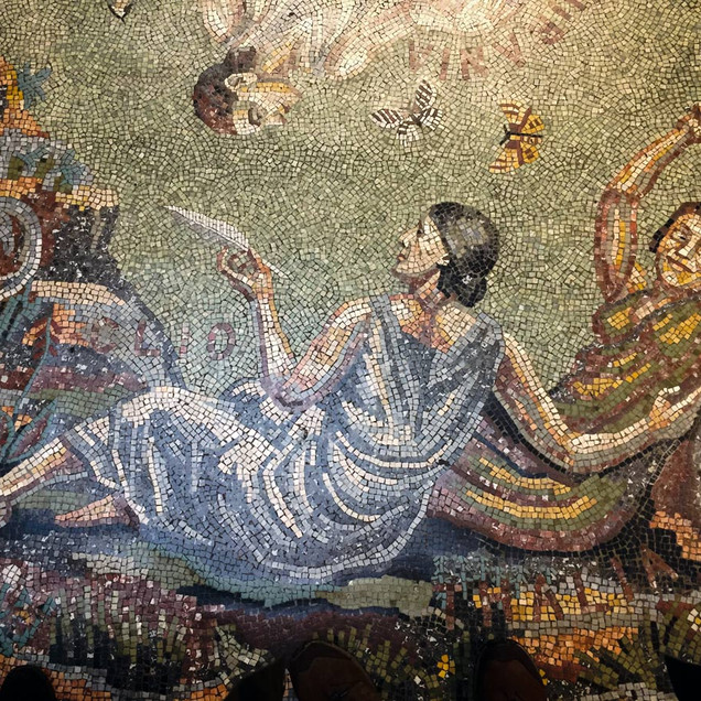 NATIONAL GALLERY MOSAIC