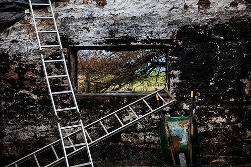 Burnt North Wall