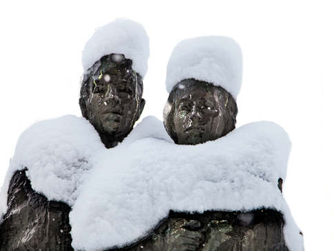 Snow Statues