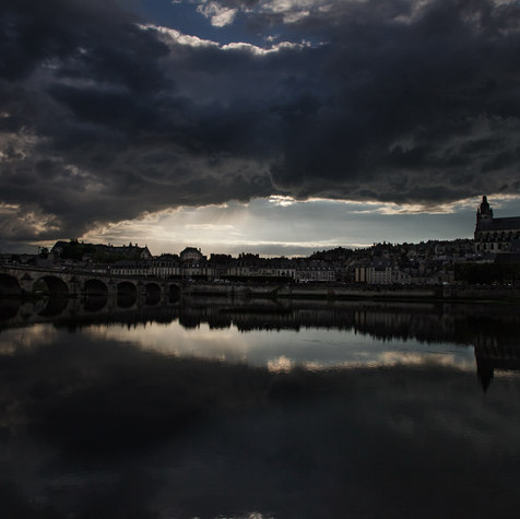 BLOIS AT SUNSET