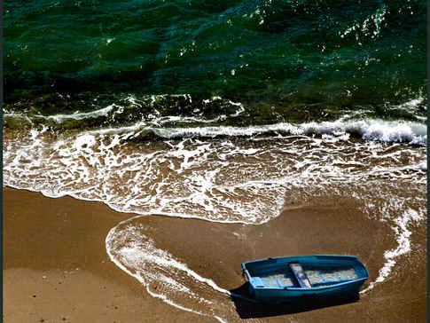 Blue Boat, Cadaques