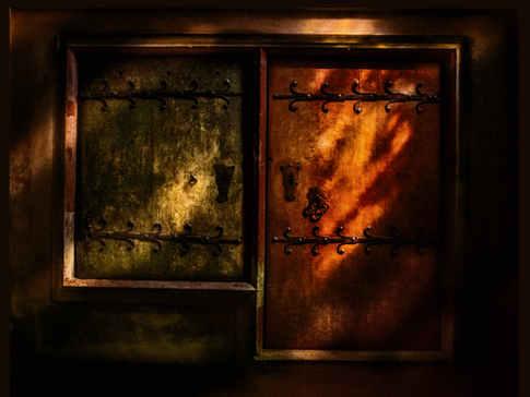 Doors in the Church of St Ursula, Marburg