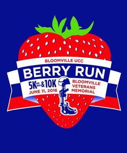 Berry Run 2016 Logo