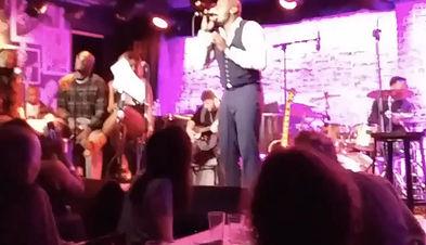 Live at the Iridium with winner of The Voice Jermaine Paul