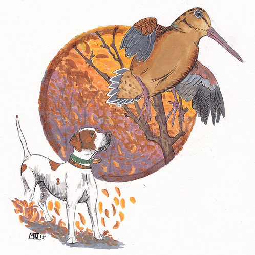 Coffee portal- Pointer pup and timberdoodle