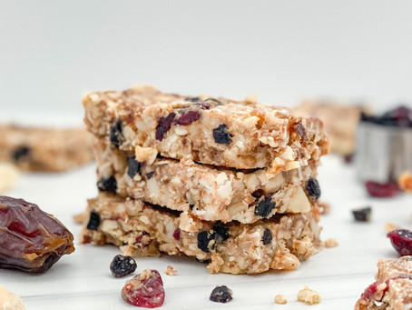 Red, White, and Blue Granola Bars