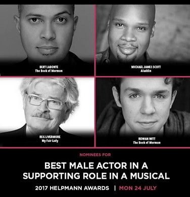 Helpmann Award Nominations 2017